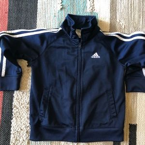 Adidas kids track jacket